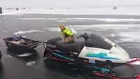 1992 skidoo mx 470 cc and sled, dog not included, cover is. Innisfil, L0L 1C0