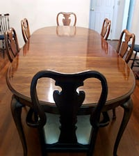 THOMASVILLE furniture. Hutch and table ( 6 chairs) Toronto, M2R