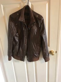 Jack & Jones leather jacket Toronto, M2N