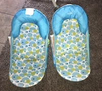 Two blue bathers $5 each