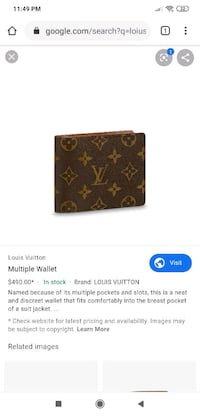 """Louis Vuitton"" Wallet  Toronto, M1C 0B1"