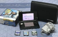 Nintendo 3DS bundle with charger and 6 games! Pick up only Brampton, L6Y 4G6