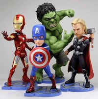 Avengers - Head Knocker - Set - NECA