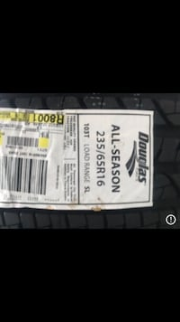 Brand new Douglas Tires (P235/65R16)- Set of 4
