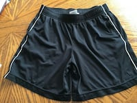 Danskin now jogger shorts (black soot) child's 10-12