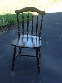 black and brown wooden windsor chair Crozet, 22932