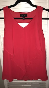 Large red blouse Rockville, 20855