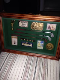 Golf shadow boxes
