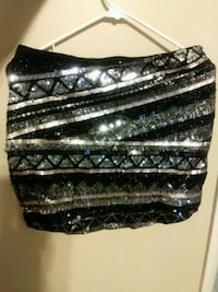 black and silver sequinned mini dress Woodbridge, 22193