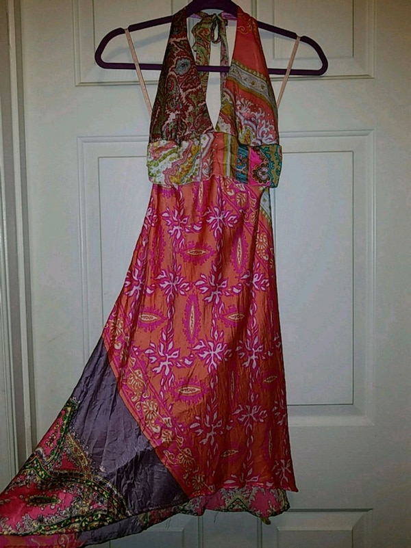 Sz 4 Alice & Trixie Paisley Halter Dress