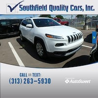 2015 Jeep Cherokee Limited Detroit