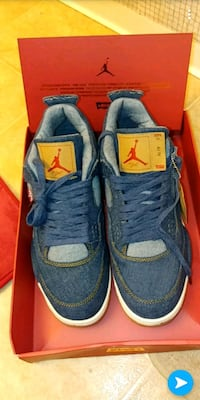 pair of blue-and-gray Nike sneakers Antioch, 94509