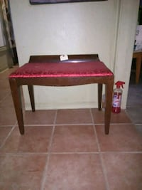 red and black wooden table Las Cruces, 88005
