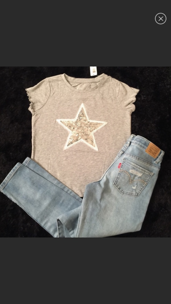 New! Big girls size 12 outfit!