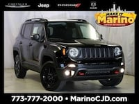 2018 Jeep Renegade Trailhawk suv Black Chicago