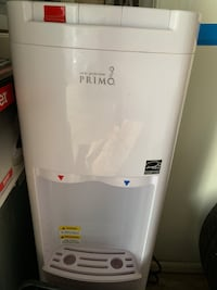 Primo White Top-Loading Cold & Hot Water Cooler Sterling, 20165