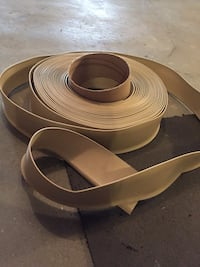 brown leather belt with silver buckle Edmonton, T5A