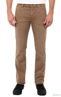 7 for all Mankind Khaki Brown Pants  North York, M3K 2C1