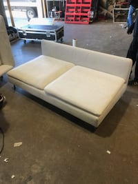 White Linen Sofa(part of sectional) Gaithersburg