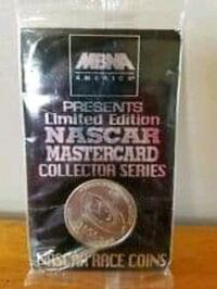Limited Edition 1996 NASCAR Coin