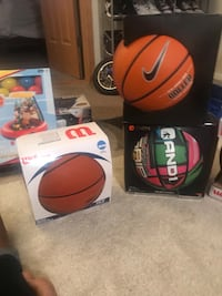 New basketball football