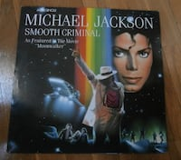 vinilo Michael Jackson ‎– Smooth Criminal MADRID