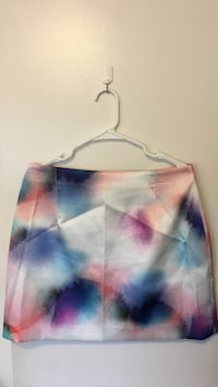 white and purple midi skirt Seattle, 98104