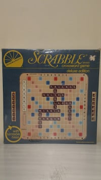 VINTAGE DELUXE 1977 Edition SCRABBLE GAME w/TURNTABLE BASE - NEW!! Arlington, 22204