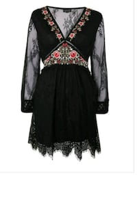 New medium embroidered lace dress Toronto, M2N 7C3