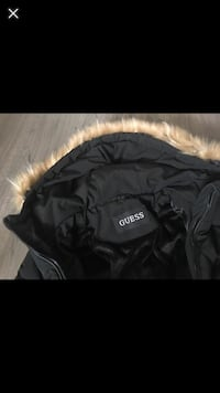 Guess womens warm winter cost large