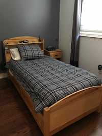Complete Twin Bedroom Set Including Mattress