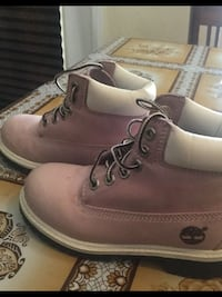 Pair of brown timberland work boots size 12 1/2 Hesperia, 92345