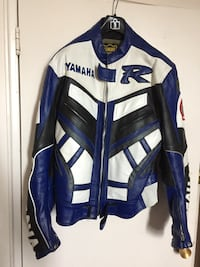 Leather Yamaha motorcycle jacket  Toronto, M1H 2A3
