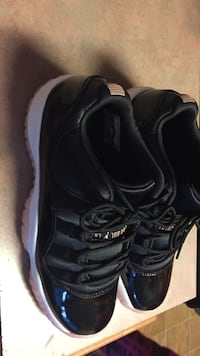 pair of black Air Jordan 11 shoes Glenwood, 60425