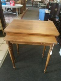 Solid Oak Nesting Tables Odenton, 21113