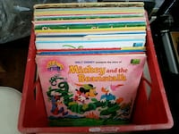 Huge Disney Record Lot 36 Vintage Records For Kids