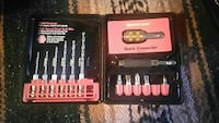Speed out drill bits set