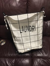 Large laundry basket from urban barn, $80 brand new  Langley, V2Y 0C6