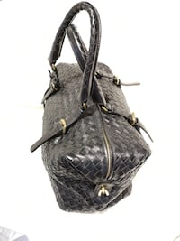 Bottega Veneta Intrecciato Leather Montaigne Satchel Bag TORONTO