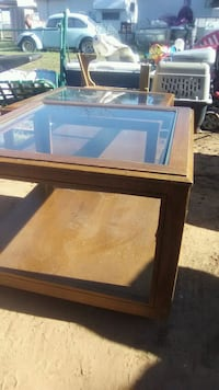 Smaller glass top table  Midland, 79707