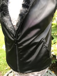 Reversible Faux Fur Vest L