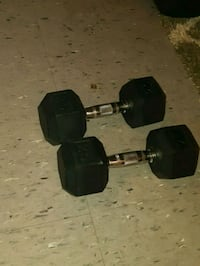two 15lb dumbbells London, N5W 2W9