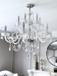 Elegant Swarovsky Crystals Chandelier with 12 lights