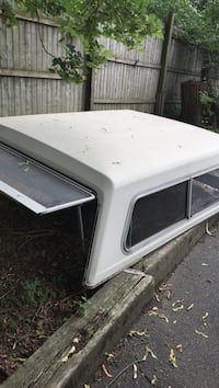 White camper shell reduced price