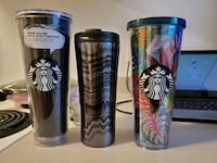 3 starbucks cup for coffe Vancouver, V6A 2Z4