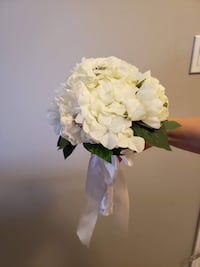 Ivory with crystals flower bouquet