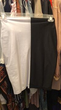 Black and White Skirt 67 km