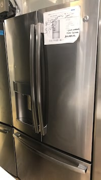 stainless steel french door refrigerator West Palm Beach, 33409