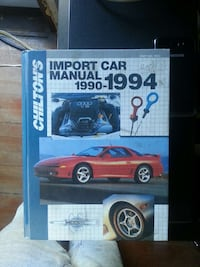 chiltons import car manual 1990-1994 Chemainus, V0R 1K1