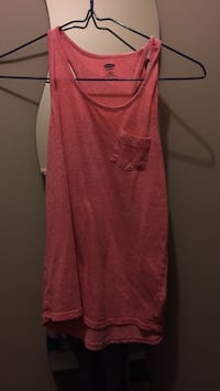 women's pink pocket tank top Nanaimo, V9R 6X8
